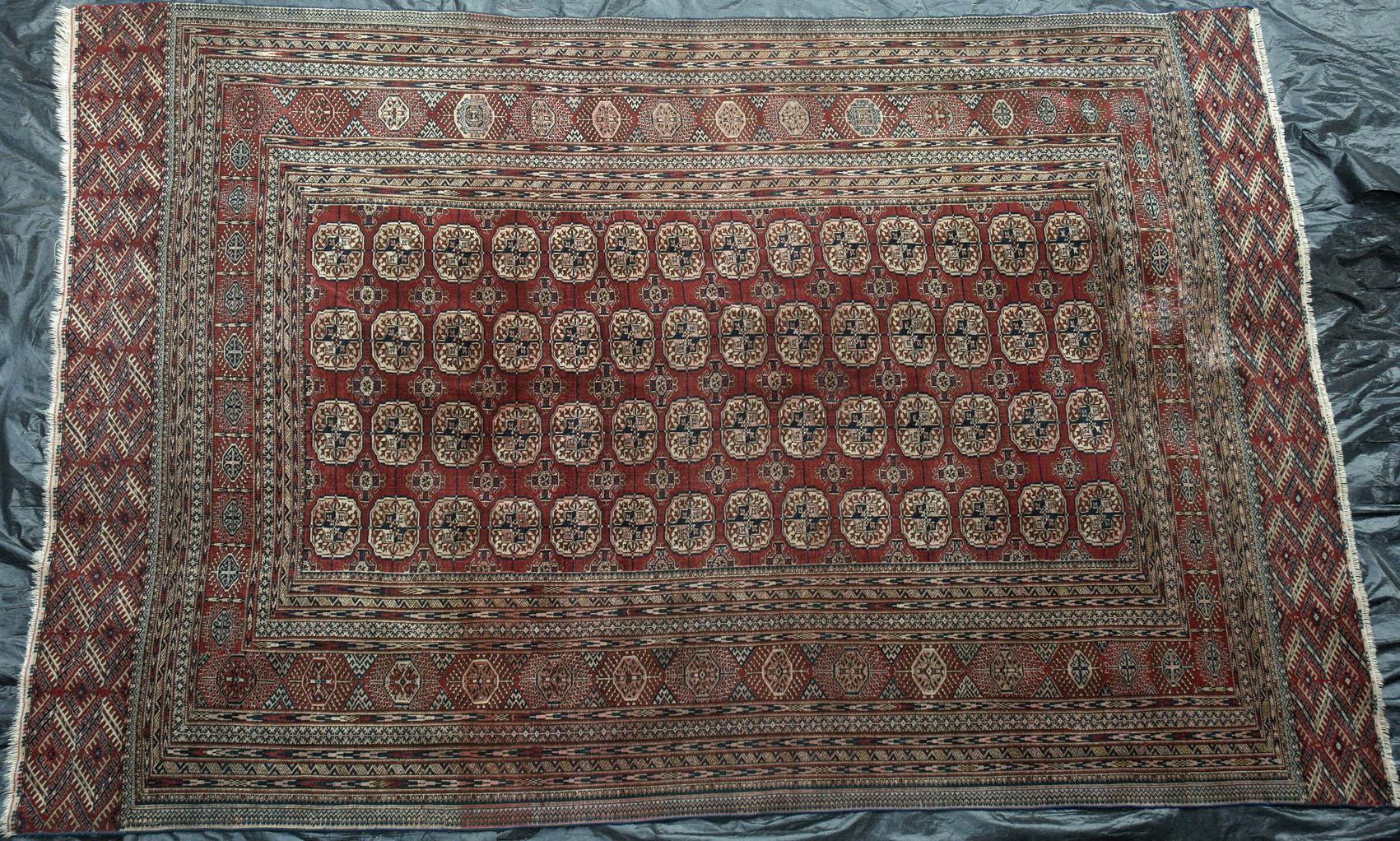 479 A Magnificent Antique Tekke Turkoman Carpet Www