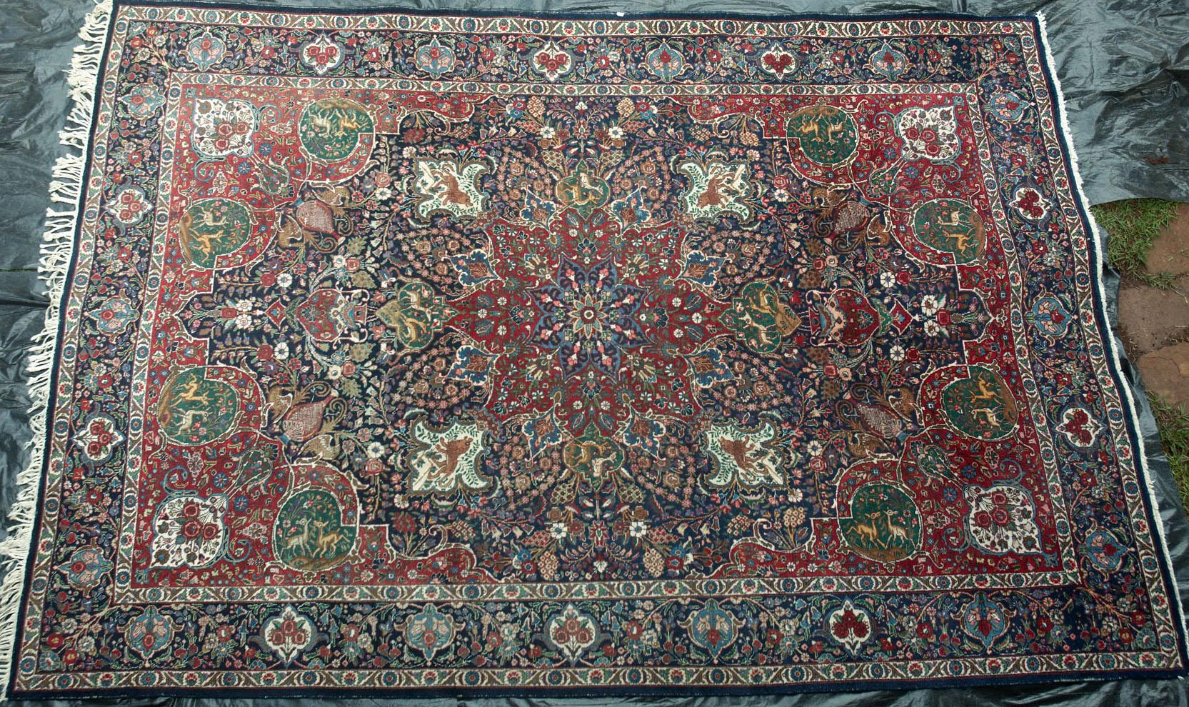 483 An Impressive Old Tabriz Persian Carpet Www Bagface
