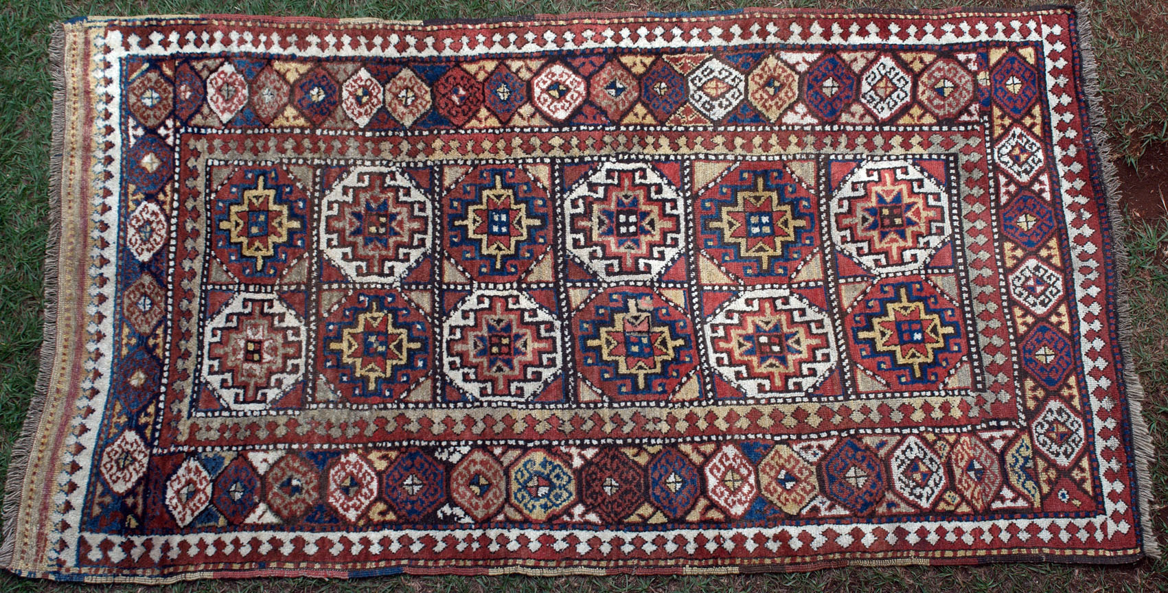569 An Inestimable Antique Moghan Caucasian Rug Www