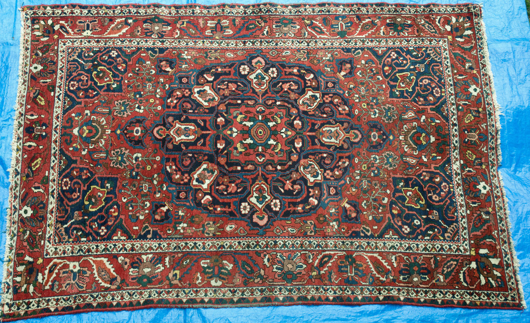 516 A Delightful Bachtiari Tribal Persian Carpet Www