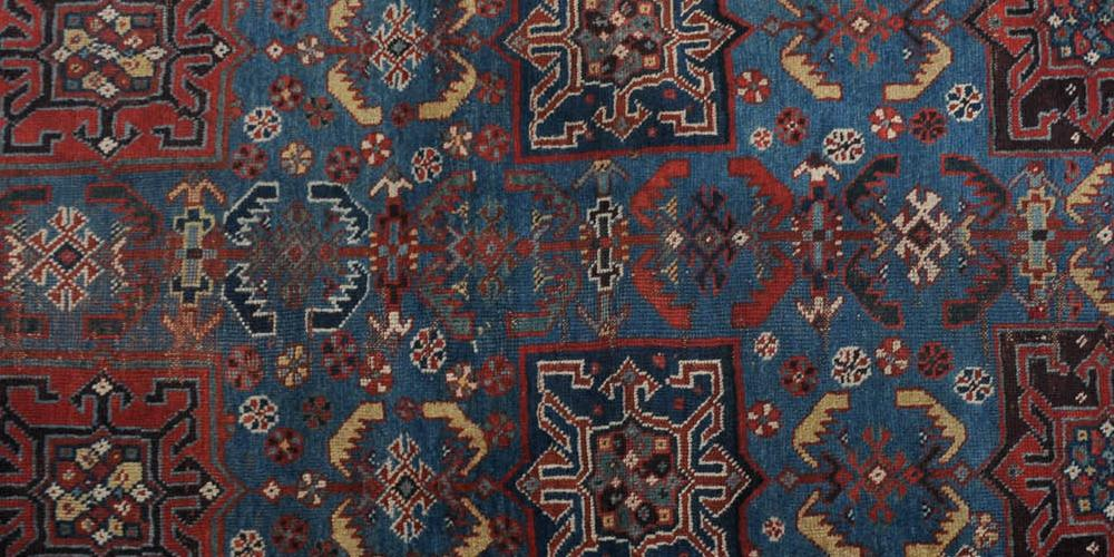 Afshar Tribal Persia Rug Handspun Wool Antique