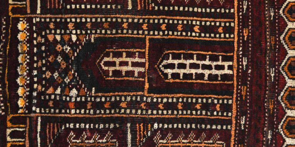 Prayer Rug Kiziliyak or Ersari Turkoman Afghan