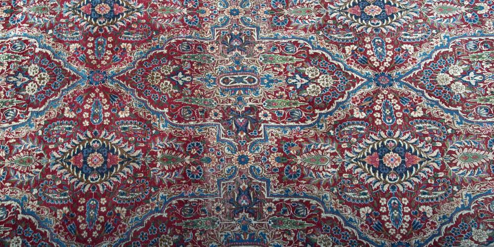 Antique Yadz Persian Carpet room size