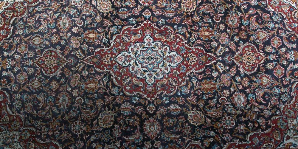 Kashan Persian floral Carpet
