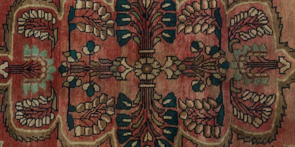 Lilihan or Lilian Persian Rug village hand-spun wool