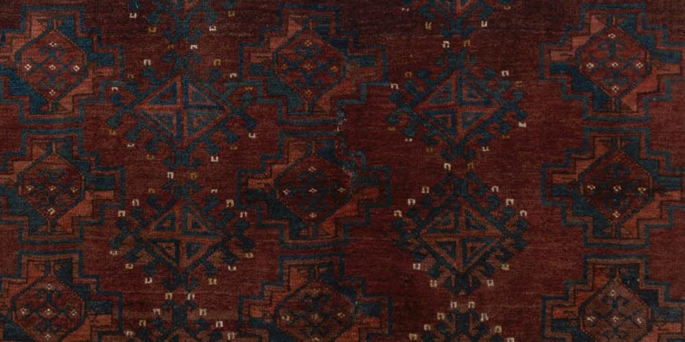 Antique Turkoman Afghan or Central Asian Ersari or Tekke Jawal or Bagface