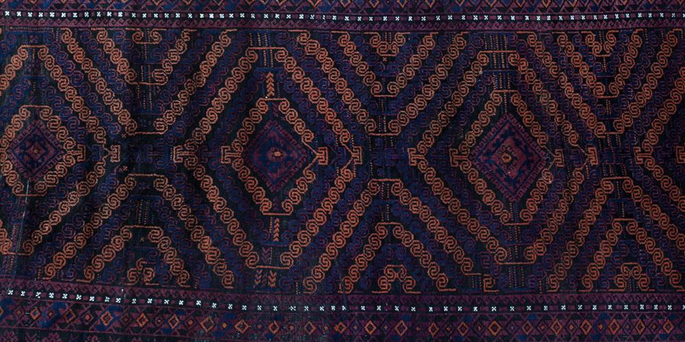 Old or Antique Baluch Afghan rug