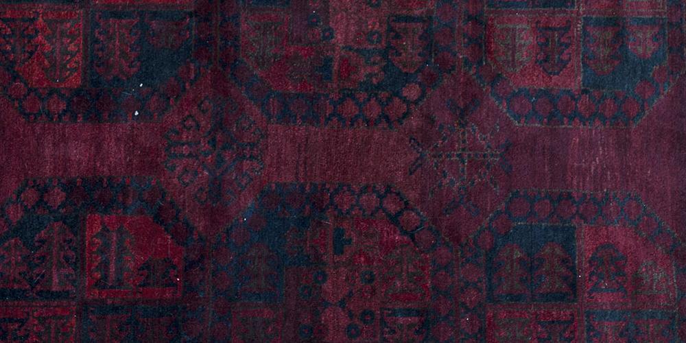 Old Afghan Ersari filpai rug