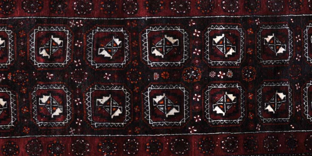 Old Afghan Baluch Rug