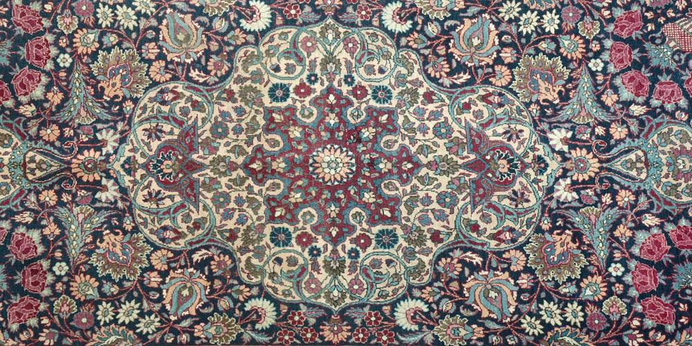 Old Semnan Persian Rug