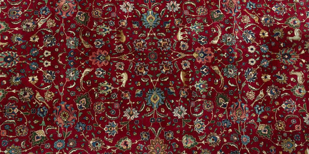 Old Tabriz Persian Carpet