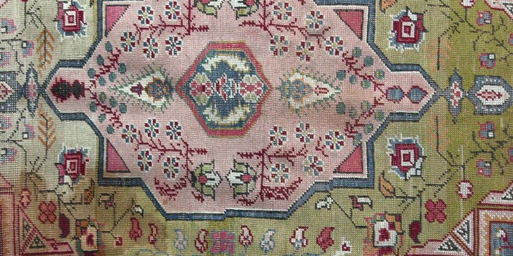 Antique Kayeri Turkish Rug