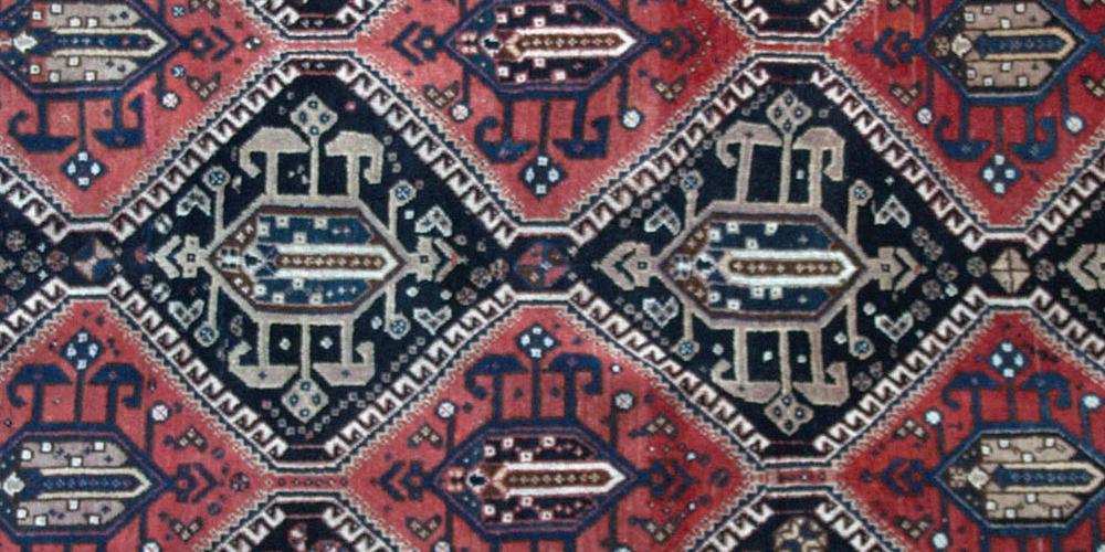 Antique Afshar Tribal Persian Runner