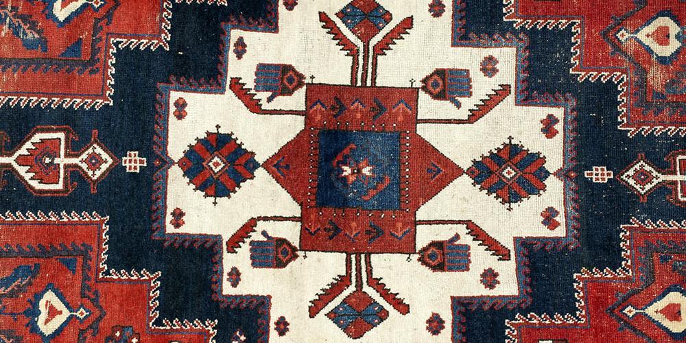 Afshar or northwest Persian tribal rug