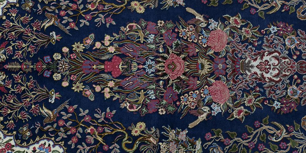 Ghom or Qum Persian Rug