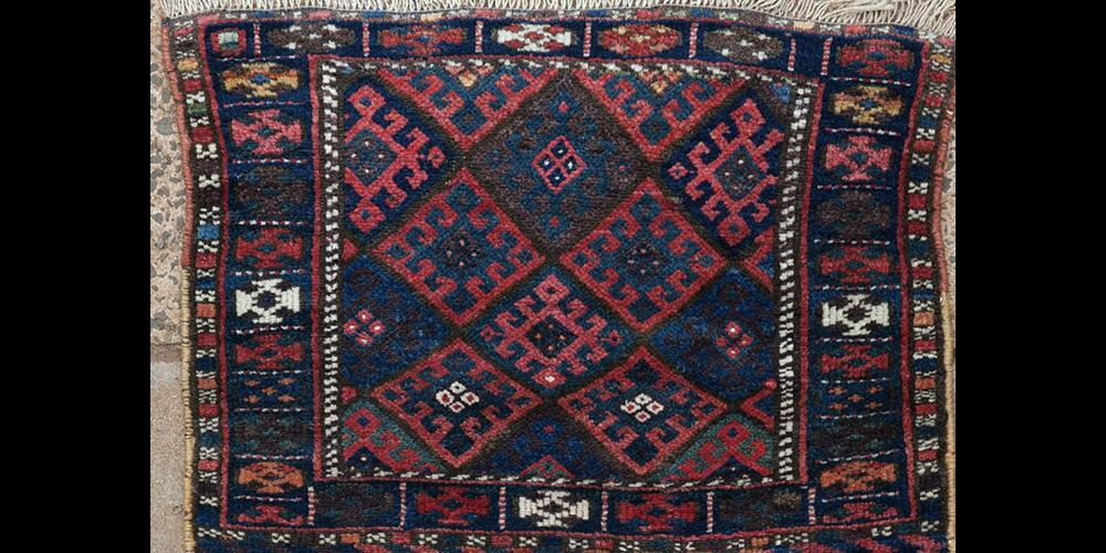 Antique Jaf Kurd khorjin or saddle bag