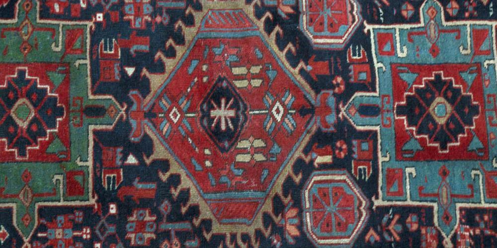 Antique Karadja Persian Rug