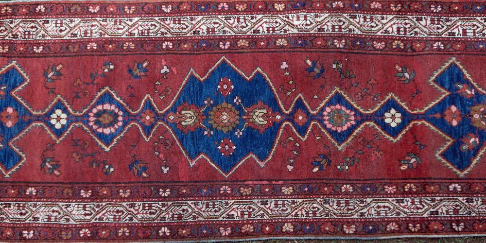 Antique Hamadan or northwest Persian runner