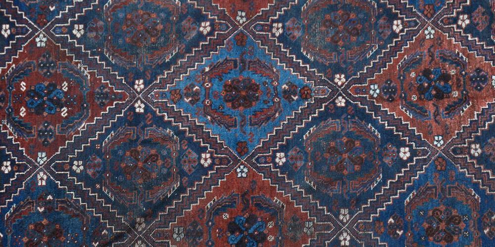 Old or Antique Afshar tribal Persian rug