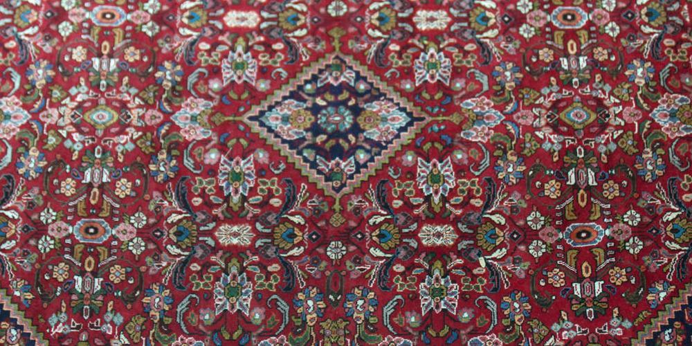 Old Mahal Persian Carpet