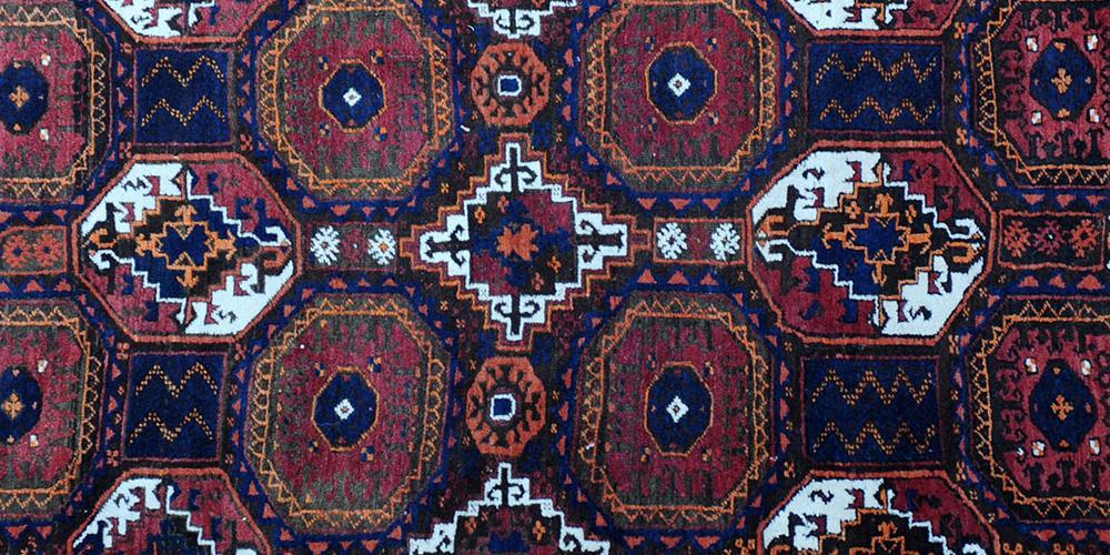 Old Baluch Afghan Rug