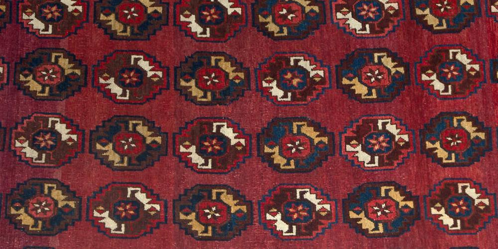 Old Beshir Turkoman Carpet