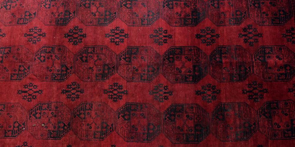 Large Afghan Ersari Carpet