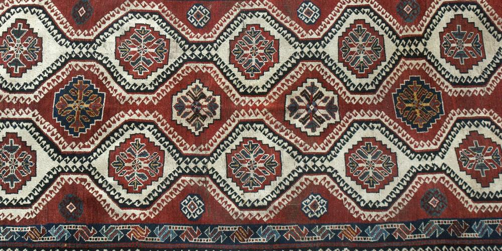 Old Qashqa'i Tribal Persian Rug