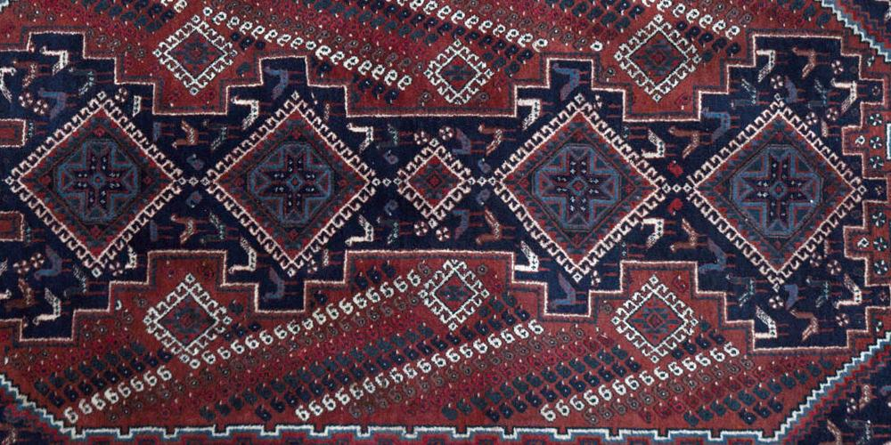 Old Afshar Tribal Persian Rug