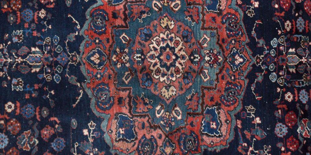 Antique Afshar Tribal Persian Rug