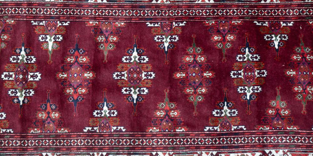 Old Yomut Turkoman tribal Rug