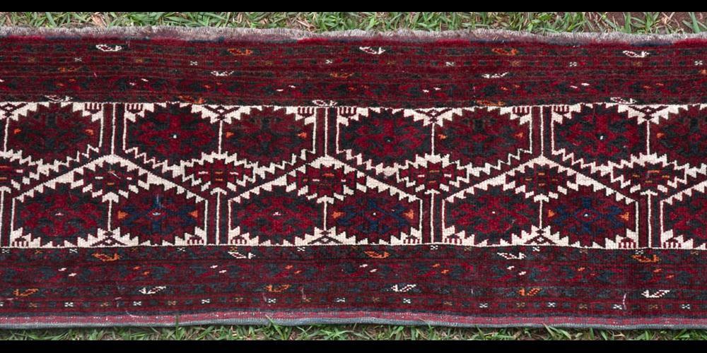 Old Ersari Afghan Torba storage bag