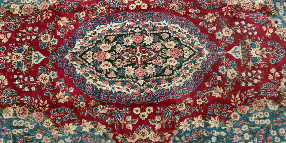 Old Kerman Persian carpet