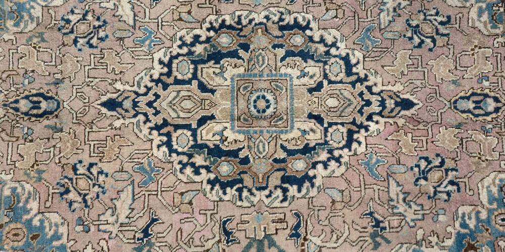 Old or antique Tabriz Persian Rug