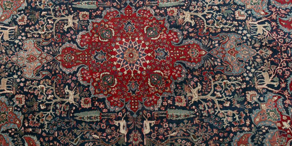 Old or antique Tabriz Persian Rug