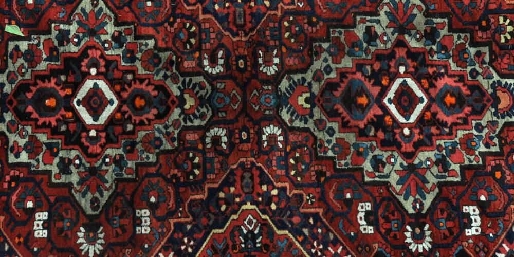 Old Bachtiari tribal Persian Carpet