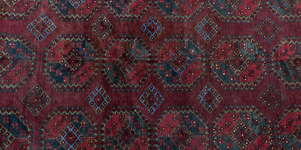 Ersari Turkoman Afghan main Carpet