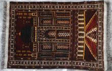 Prayer Rug Kiziliyak or Ersari Turkoman Afghan