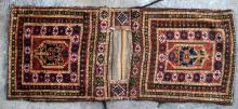 Antique Uzbek Central Asia Saddle bag