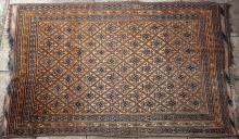Old Baluch Afghan tribal rug