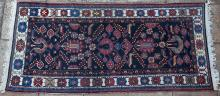 An old Bakhtiari (or Malayer) Persian rug