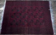 Old Afghan Ersari filpai carpet
