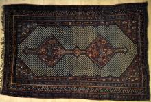 antique or old qashqa'i persian tribal rug