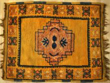 Antique Moroccan Ait Ouaouzguite tribal rug