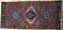 Antique Karadja or Heriz Persian Rug