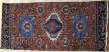 Antique Karadja or Heriz Persian Rug