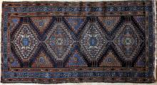 Antique northwest Persian village rug