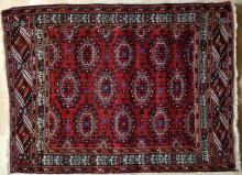Old Saryk Turkoman rug