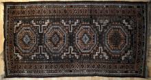 Antique Afghan Baluch Rug