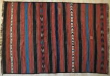 Antique Uzbek or Turkoman (?) kilim